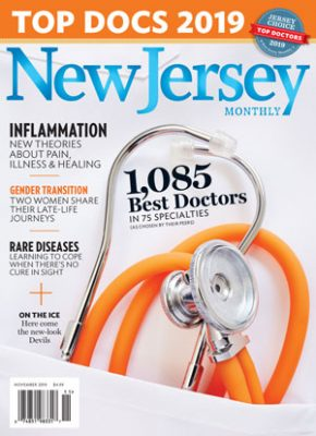 NJ Monthly Top Doctors Mag Cover